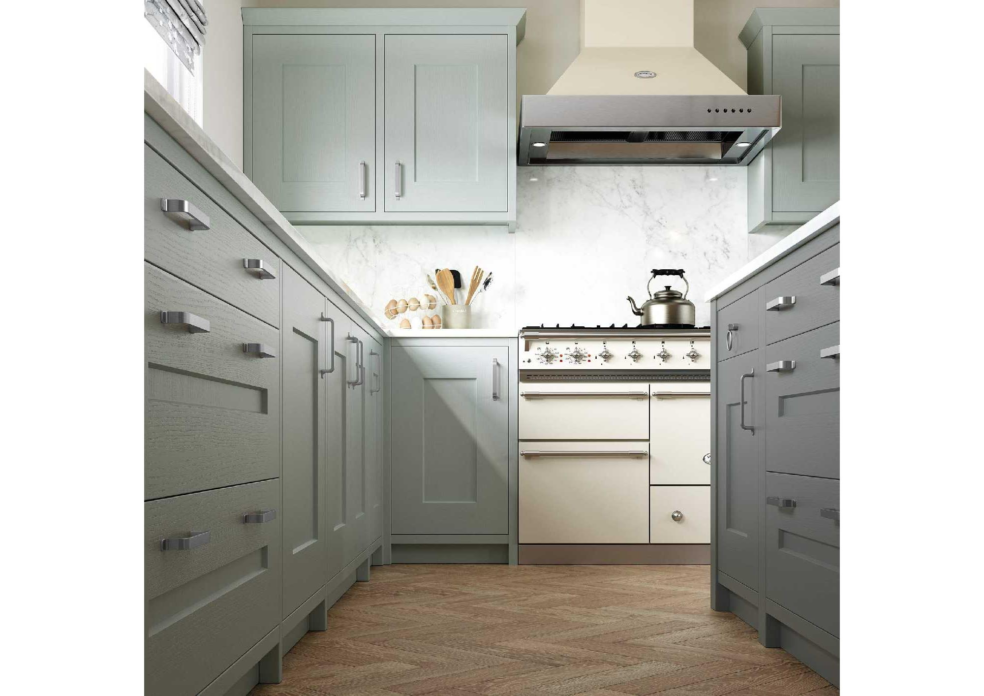 Contemporary in-frame shaker style kitchen picture 2