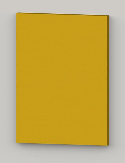 Special horizontal birch veneer flat door - yellow tbp78