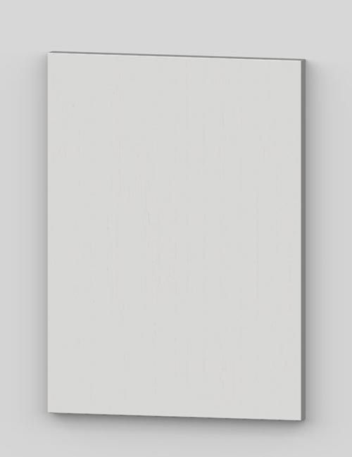 Vertical birch veneer flush door - arctic white tbp52
