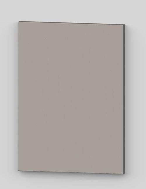 Vertical birch veneer flush door - cashmere tbp29