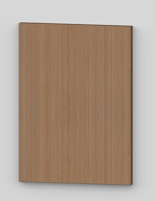 Vertical birch veneer flush door - hazel tb3