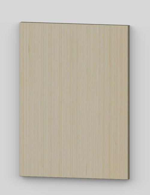 Vertical birch veneer flush door - oiled tbm0