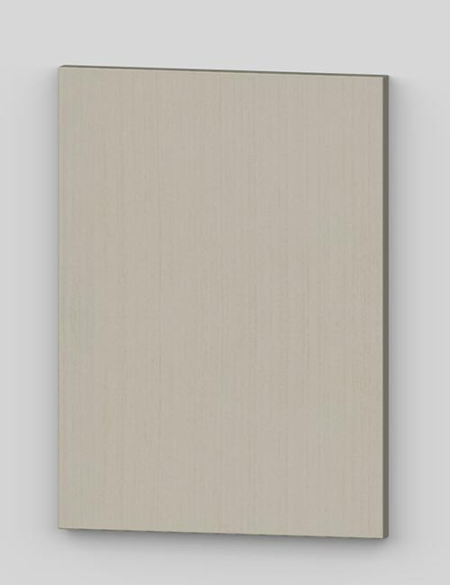 Vertical birch veneer flush door - vanilla tb18