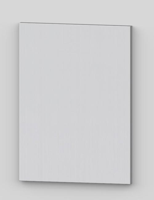 Vertical birch veneer flush door - white tb50