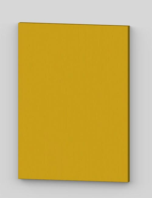 Vertical birch veneer flush door - yellow tbp78