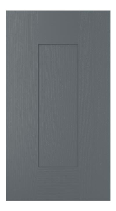 Shaker door - gun metal grey