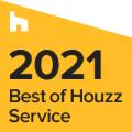 Best of Houzz Service 2021 award