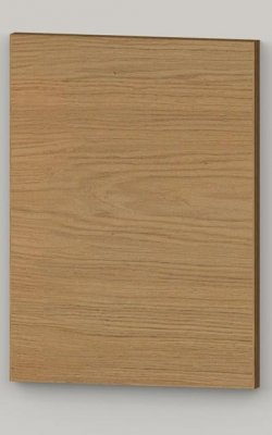TP21 Straight grained oak veneerd flat door - lacquered