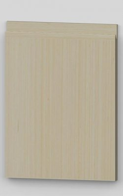 Special vertical birch veneer j-pull door - oiled tbm0