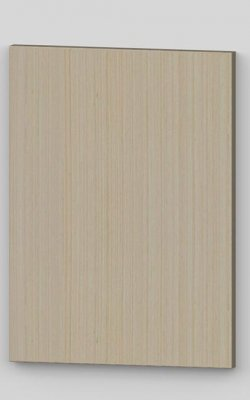Vertical birch veneer flush door - lacquered tb1