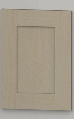 hp50 solid oak arched frame door with oak veneered centre panel - lacquered b1