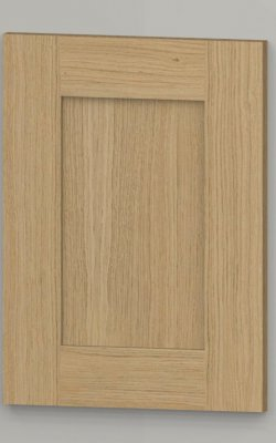 WS21 oak frame shaker door - untreated k00