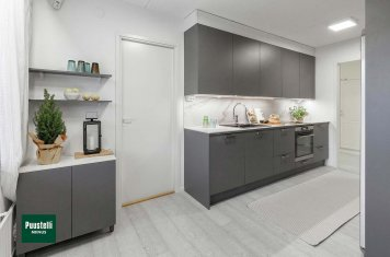 Pusstelli Miinus ecological kitchen matte dove grey